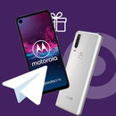 Акция  «Алло» Розіграш смартфона Motorola One Action у Telegram